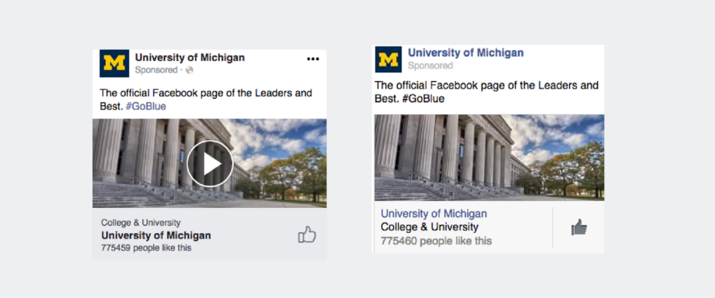 Facebook Ad A/B Test