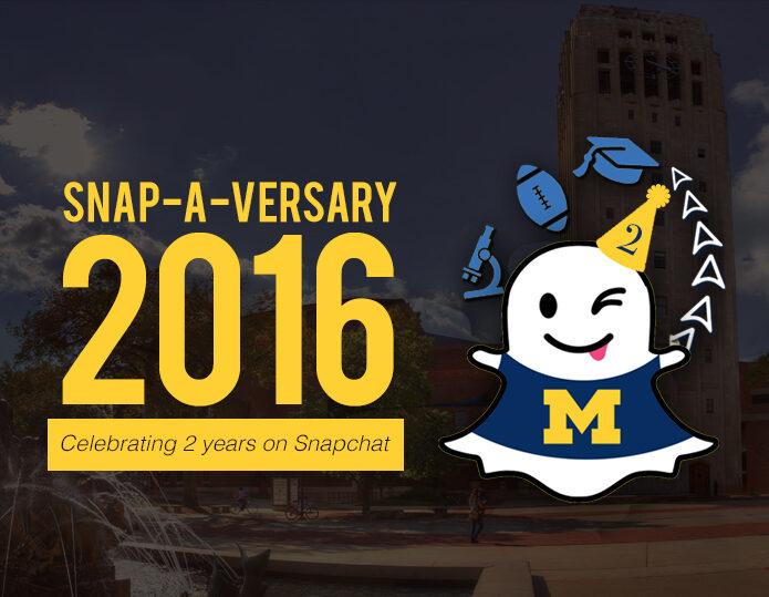 University of Michigan's Snapchat