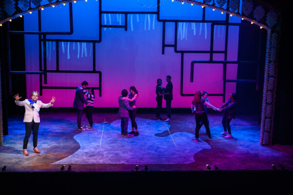 Students from the School of Music, Theatre & Dance perform on stage