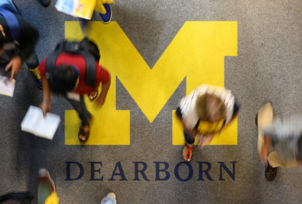 UM Dearborn students