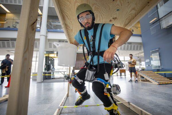 Gurpreet Singh Kalsi undergoes obstacle test
