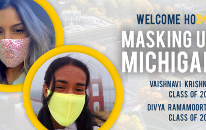 Welcome Home: Masking Up Michigan