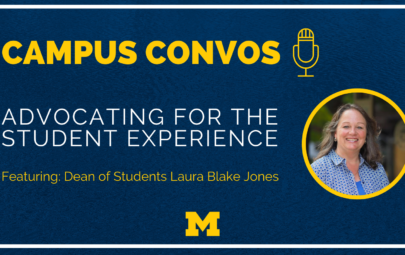 Campus Convos: Featuring Dean of Students Laura Blake Jones