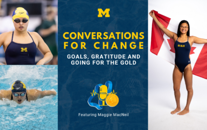 Conversations for Change: Goals, Gratitude, and Going for the Gold featuring Maggie MacNeil