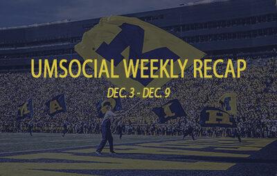 Weekly recap graphic