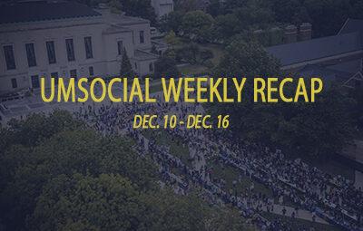 UMSocial weekly recap