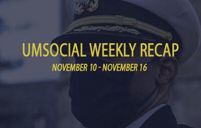 UMSocial Weekly Recap graphic