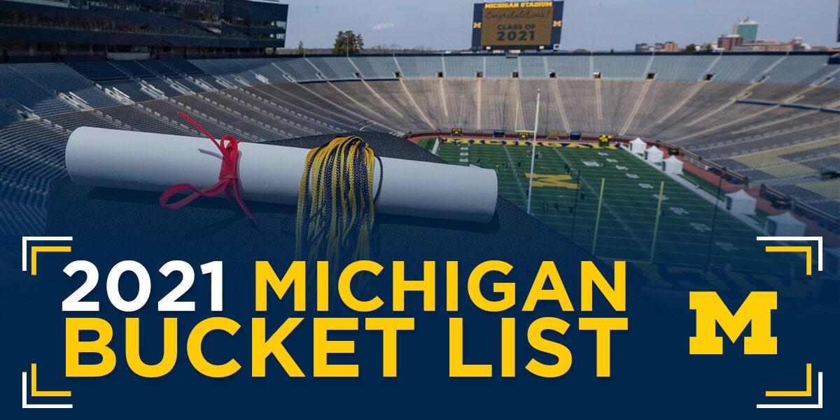 2021 bucket list